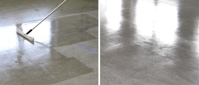 Обеспыливания бетона шлака бетон