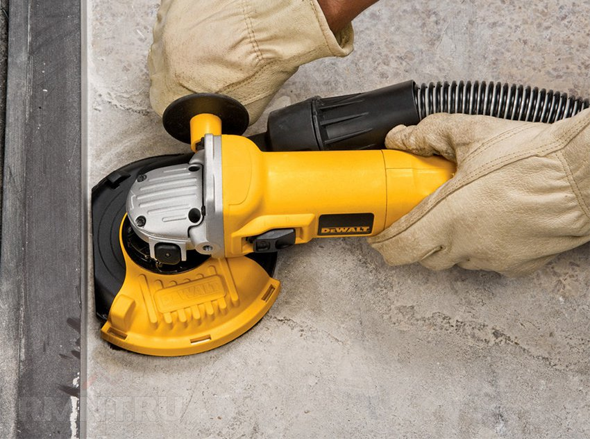 Чем отшлифовать бетонный пол