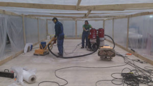 Примеры работ по ремонту бетонного пола 42