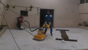 Примеры работ по ремонту бетонного пола 41