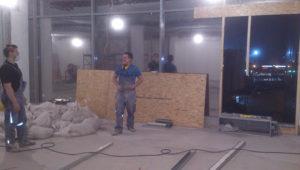 Примеры работ по ремонту бетонного пола 38