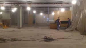 Примеры работ по ремонту бетонного пола 37