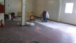 Удаление краски + Северный луч - Ремонт бетонных полов в спб - ООО ЛОГОПОЛ 4