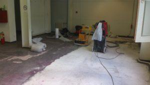 Удаление краски + Северный луч - Ремонт бетонных полов в спб - ООО ЛОГОПОЛ 3