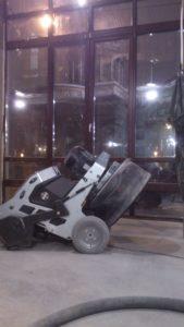 Ремонт бетонных полов в спб для ресторана City&Grill - ООО ЛОГОПОЛ 9