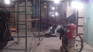 Ремонт бетонных полов в спб для ресторана City&Grill - ООО ЛОГОПОЛ 8