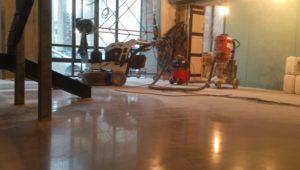 Ремонт бетонных полов в спб для ресторана City&Grill - ООО ЛОГОПОЛ 6