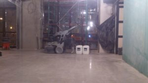 Ремонт бетонных полов в спб для ресторана City&Grill - ООО ЛОГОПОЛ 4