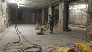 Примеры работ по ремонту бетонного пола 17