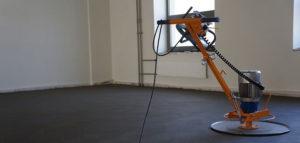 Шлифование бетона вертолетом