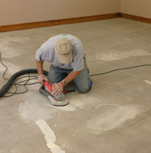 Шлифование бетонного пола 6