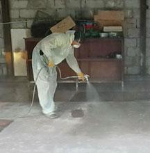 Обеспыливание бетонного пола 5