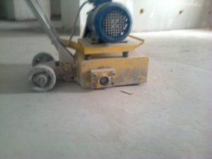 Фрезеровка бетонных полов 2
