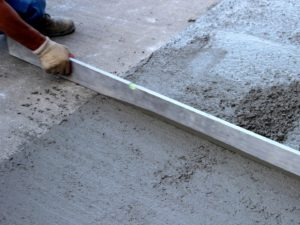 Выравнивание бетонного пола 4
