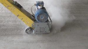 Шлифование бетонного пола 1