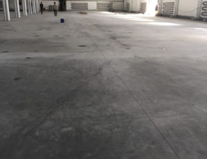 Фрезеровка бетонных полов