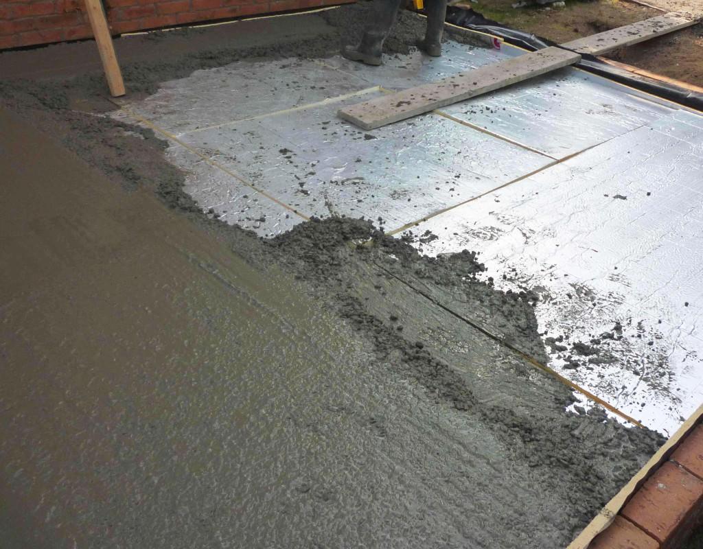 чем утеплить бетонный пол