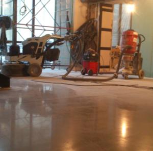 Ремонт бетонного пола 5