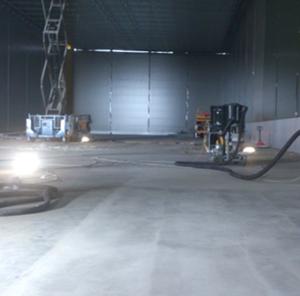Ремонт бетонного пола 1