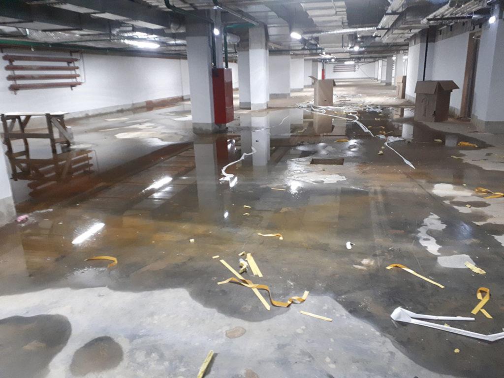 Комплексный ремонт паркинга 6